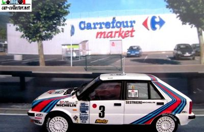 FASCICULE N°50 LANCIA DELTA HF 4WD RALLYE MONTE CARLO IXO 1/43.