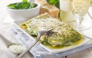 Lasagne aux Epinards et Ricotta
