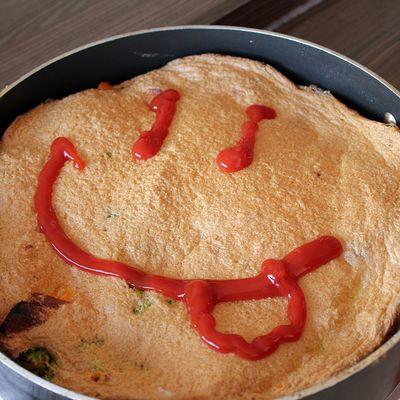 Sauce passe-partout + Omelette soufflée