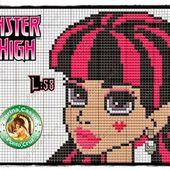 ENCANTOS EM PONTO CRUZ: Monster High