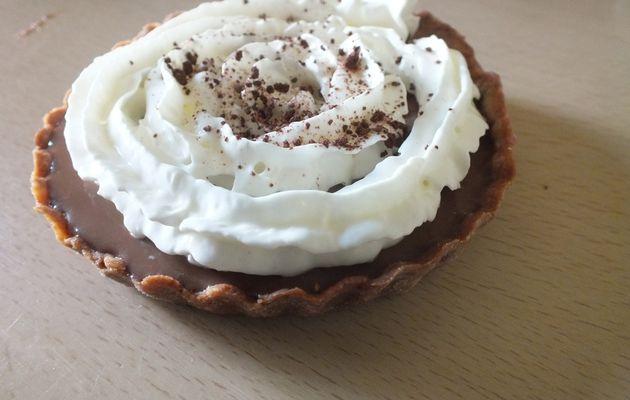Tartelette chocolat liégeois