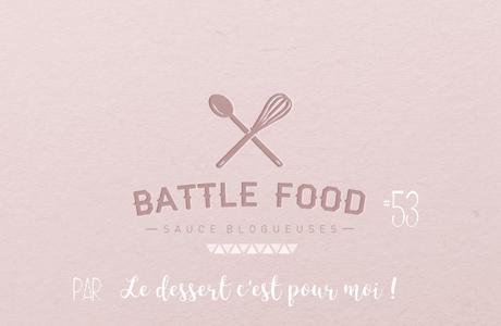 Moelleux aux framboises, chantilly rose Battlefood #53