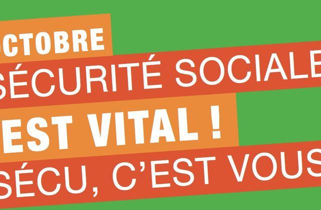 Manifestons pour la sécu le 16 octobre