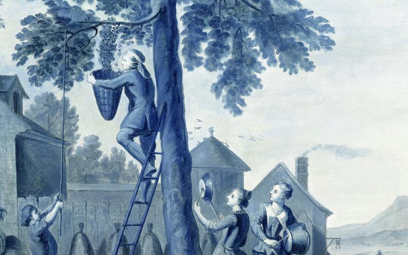 Michel Hubert-Descours, panneaux décoratifs (détails), 1755 © d.r.