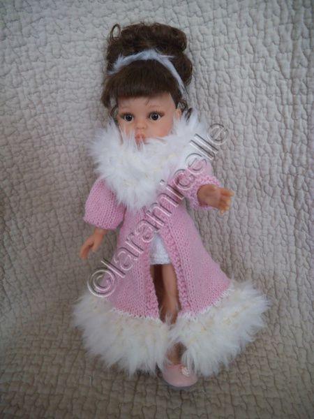 tuto gratuit barbie et paola reina :mes poupées en manteau