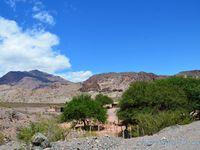 Quebrada de las Conchas, Argentine en camping-car