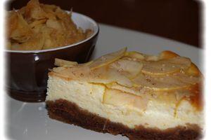 Cheese cake épicé