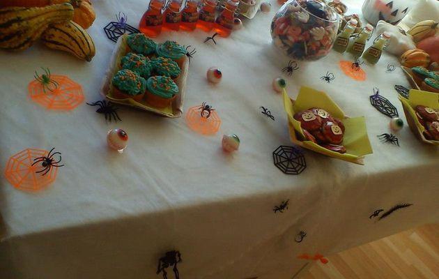 Ma Sweet Table d'Halloween