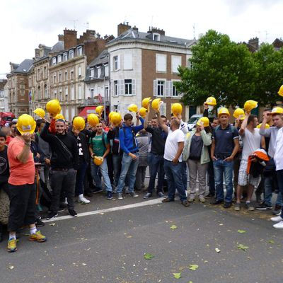 Les Casques jaunes au Tour de france