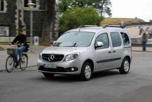 Mercedes Citan Kombi...grosse surprise!