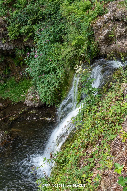 XERTIGNY, la cascade du Gué du Saut