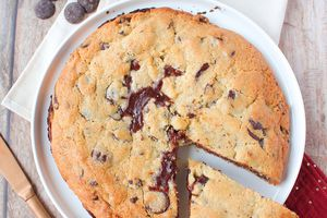 Cookie Géant Fourré au Chocolat