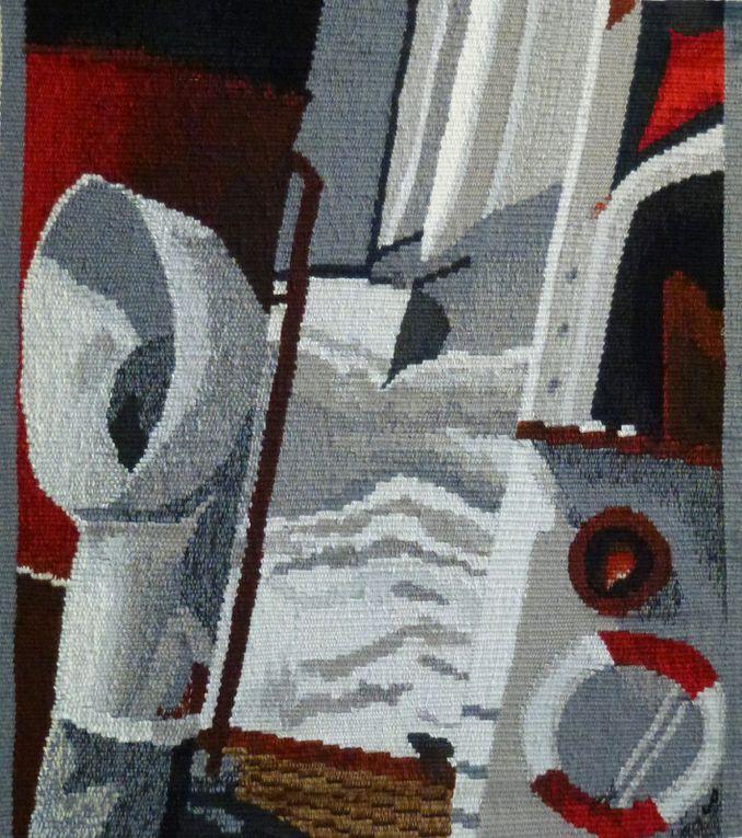 Fragments de quelques tapisseries présentées