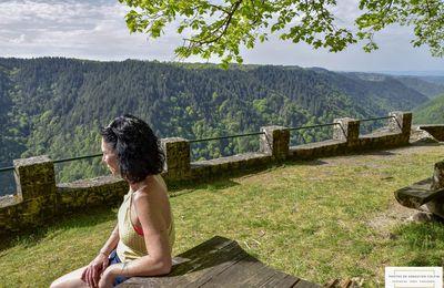 Site du Rocher du Peintre, belvédère à Camps Saint Mathurin Léobazel en Corrèze