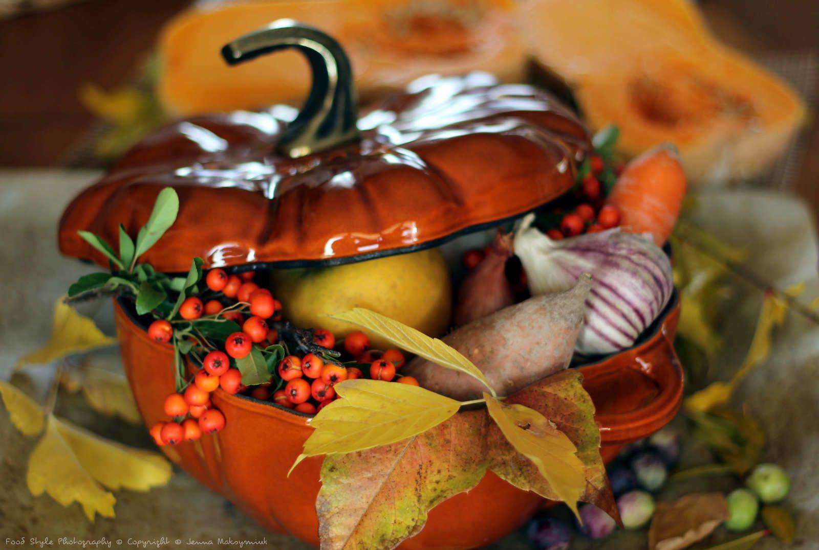L'automne dans l'assiette