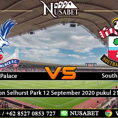 Prediksi Crystal Palace Vs Southampton 12 September 2020