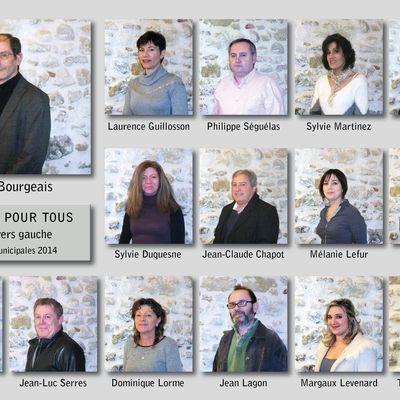 """Présentation de la liste de """"Belpech pour tous"""" - éléctions municipales 2014"""
