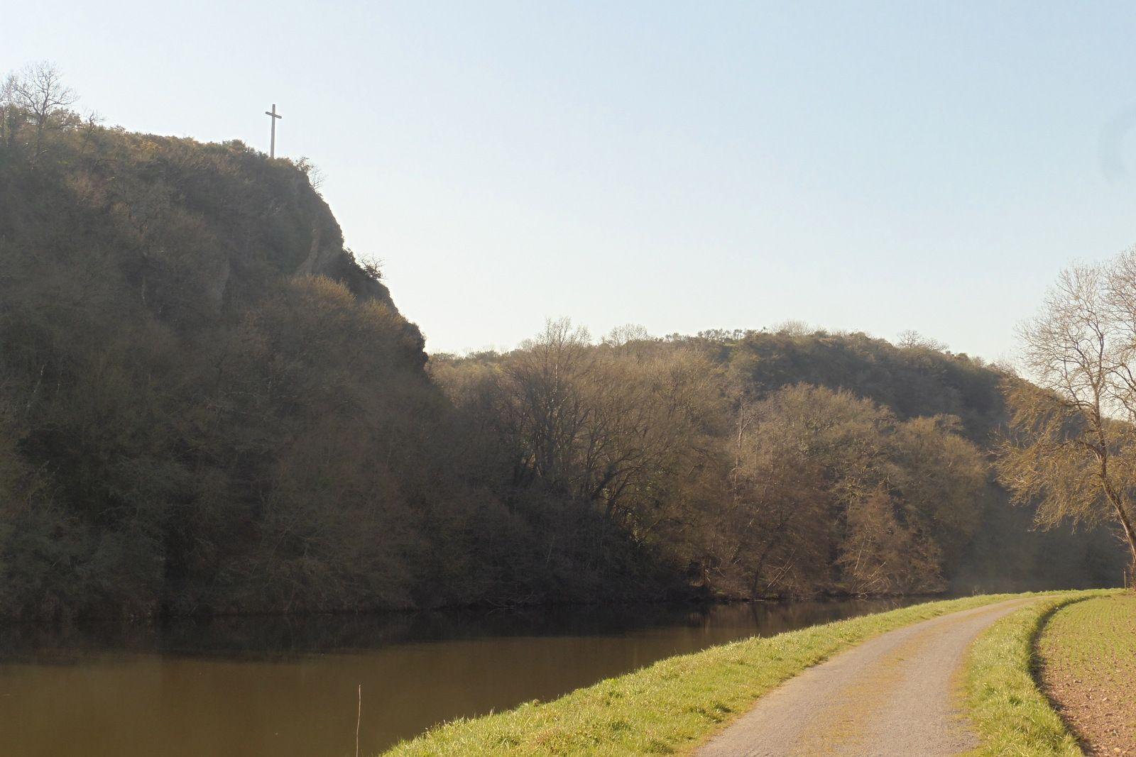 Au fil de la Vilaine - Etape 6 - Bourg-des-Comptes / Port de Roche - 65,8 km - A.R