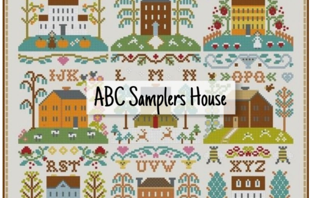 """ABC Samplers House"" – free cross stitch pattern"