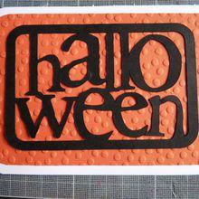 Cartes Halloween ;part1