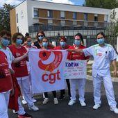Coronavirus : les personnels des Ehpad Korian en grève dans la Marne
