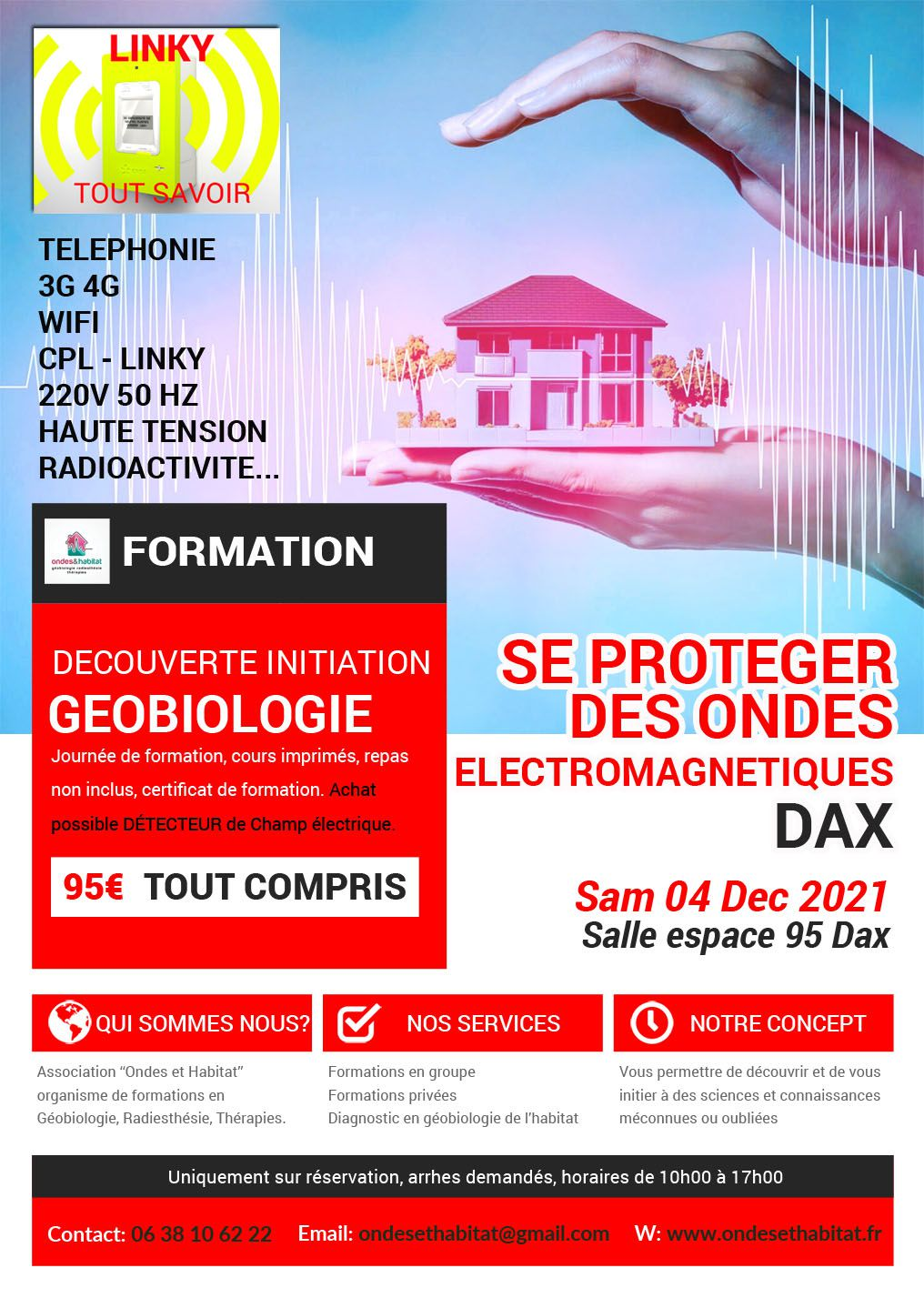 ► DAX FORMATIONS Calendrier