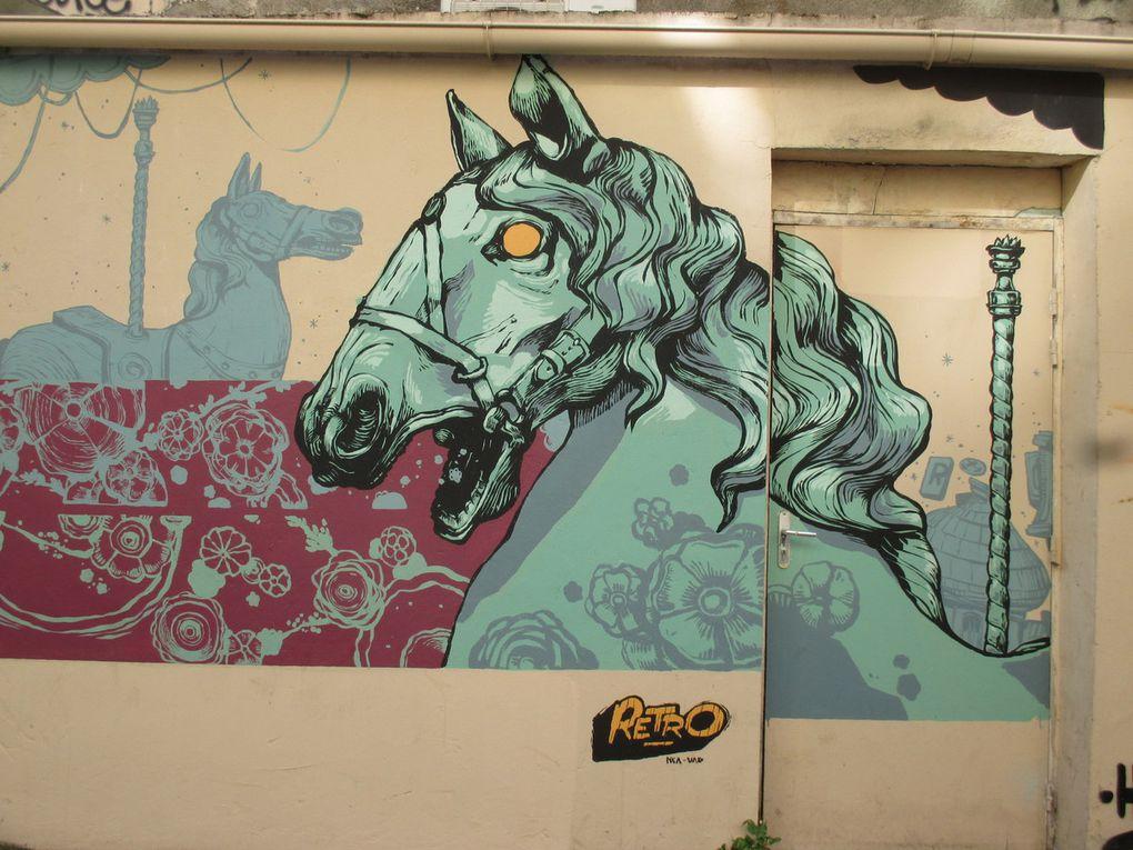 Retro Graffitism - Paris 20e - Rue des Pyrénées