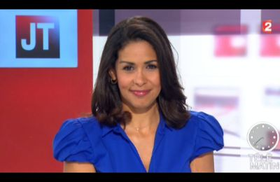[2012 07 26] SOPHIE GASTRIN - FRANCE 2 - LE JOURNAL @07H30