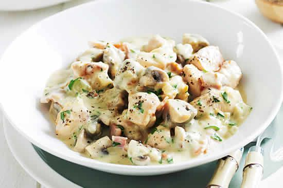 Recette cookeo poulet aux champignons RECETTE 360