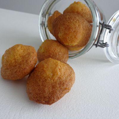 Minis madeleines au citron