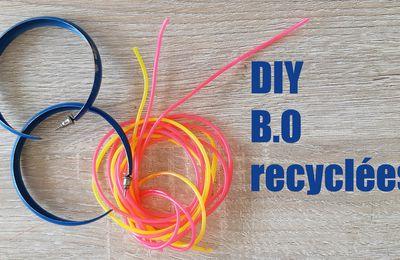 DIY : Bijoux recyclés pour le challenge OUIAREMAKERS2019
