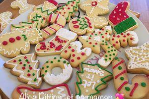 Sablés décorés de noël - Quelle recette de glaçage pour des biscuits de noël?
