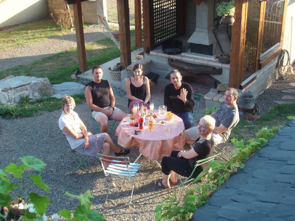Photos de l'année 2009 : Les gites, les clients, les amis, la la famille, le jardin, les chats...