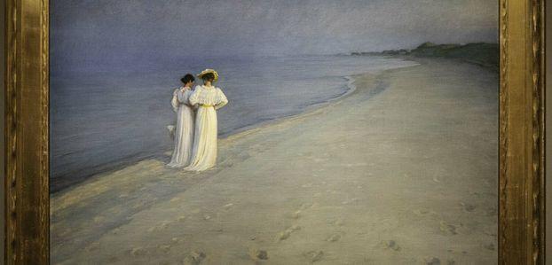 Exposition Krøyer au musée Marmottan-Monet.