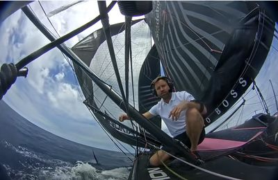 HUGO BOSS Imoca : Cape Town to UK Delivery - Onboard Update 14 January 2021