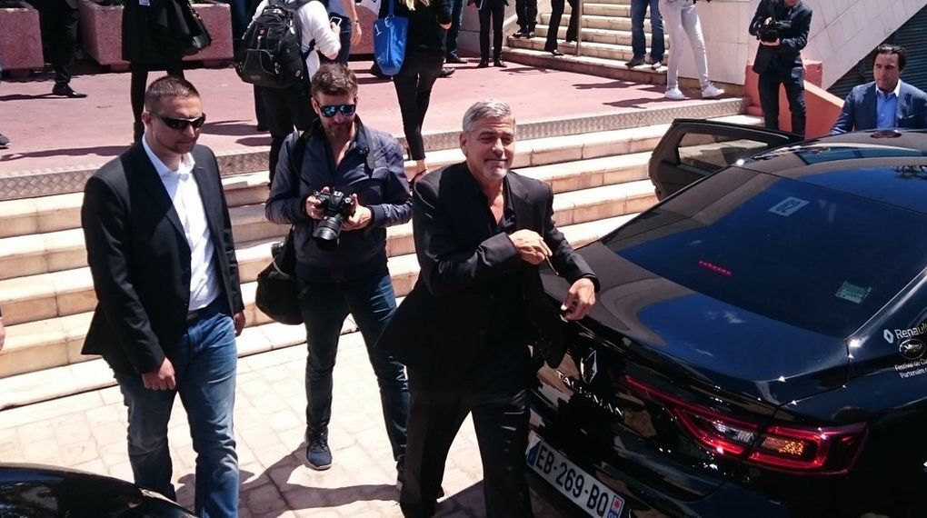 Photos de l'arrivée de George Clooney et Julia Roberts #MoneyMonsters