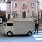 CITROEN TUB TYPE H 1200 KG DINKY TOYS 1/43 REEDITION ATLAS - car-collector