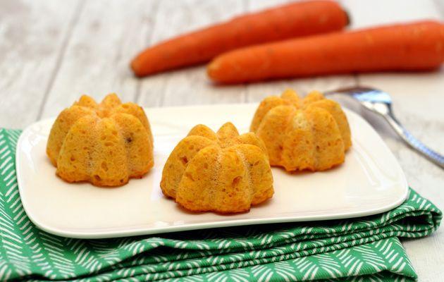 Flan aux carottes et ricotta