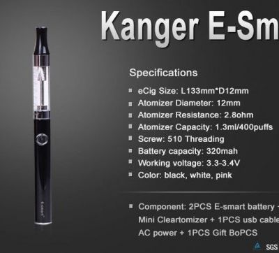 The types of Coil you will find in the Kanger Electric cigarettes