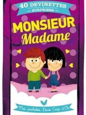 Monsieur Madame: Mes pochettes Deux Coqs d'Or