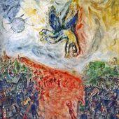 Chagall - La Chute d'Icare - LANKAART
