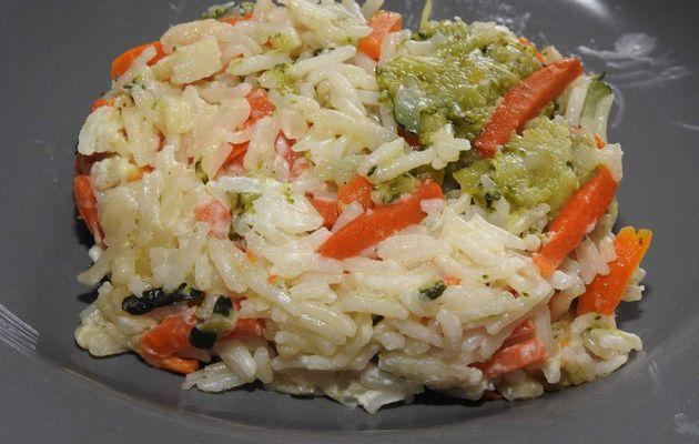 Julienne de Légumes surgelés et riz (cookeo ou pas)