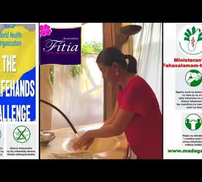 Mialy Rajoelina THE SAFE HANDS CHALLENGE - VIDEO