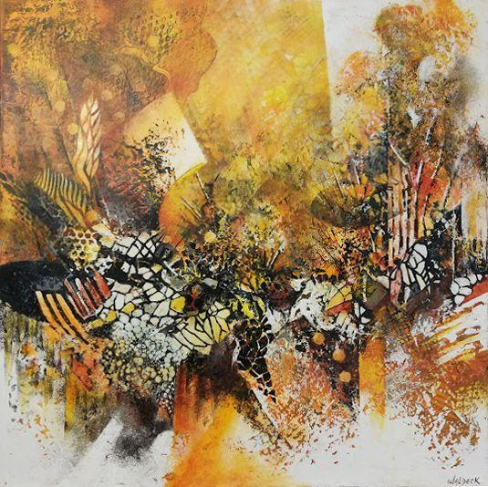 Acrylique sur toile (80x80)