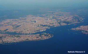 Au-dessus d'Istanbul !