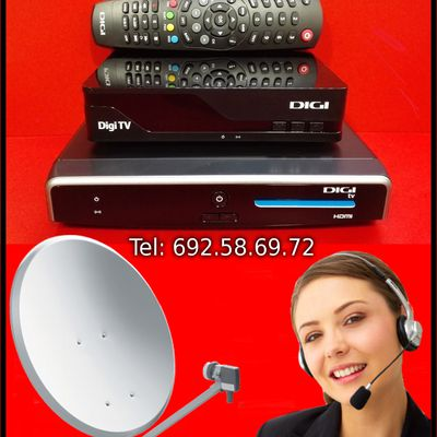 Montari Antene Parabolice Digi TV Dolce TV Satelit Madrid