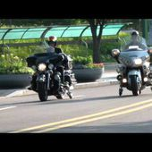Comparison of the landing gear ride Harley-Davidson vs. GOLDWING