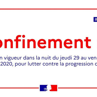Re-Confinement novembre 2020