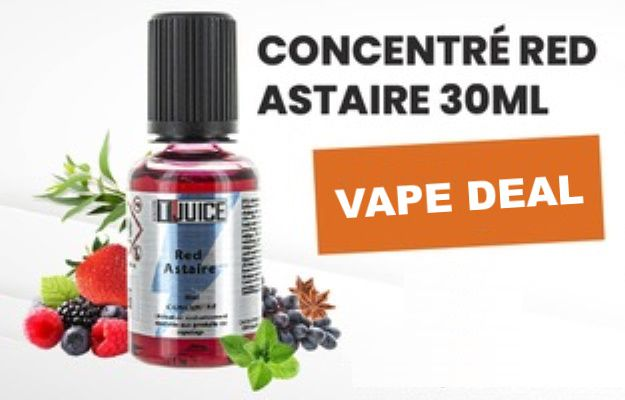 Vape deals - Concentré DIY Red Astaire 30 ml