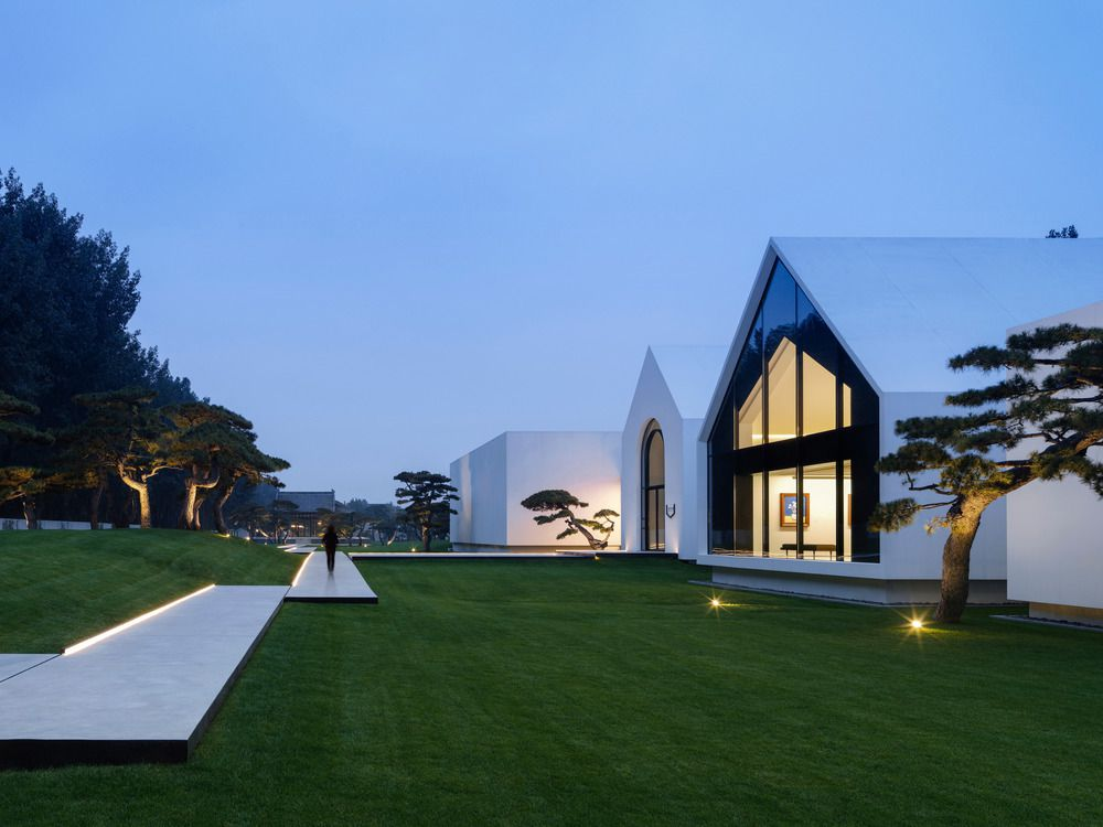 SONG ART MUSEUM IN CHINA, BY VERMILION ZHOU DESIGN GROUP